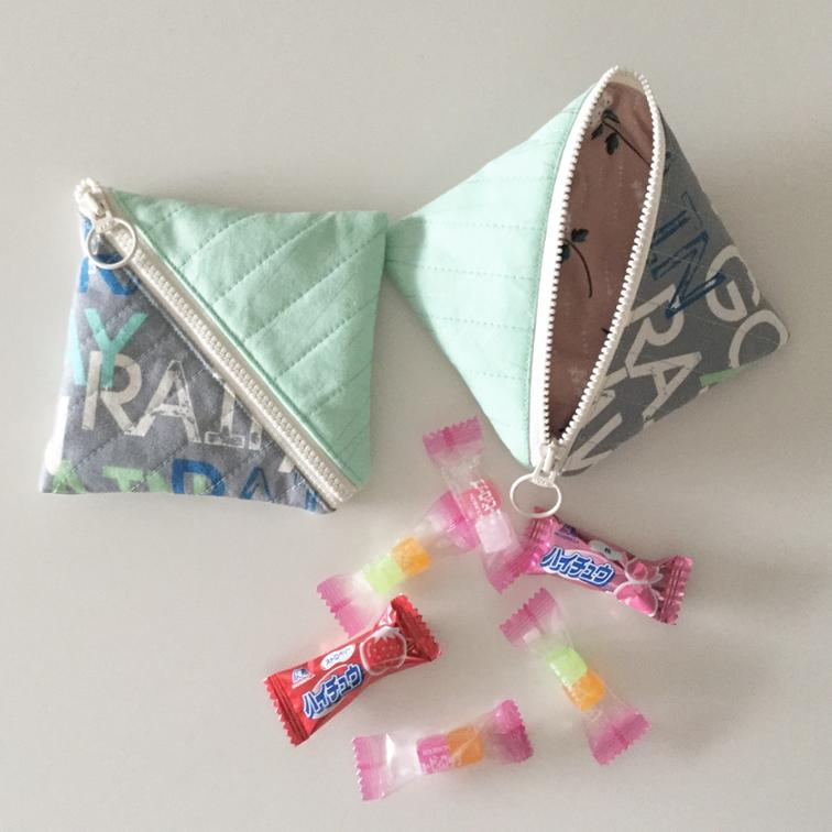 Half Square Triangle Coin Purse | Clever Sewing Projects To Upcycle Fabric Scraps