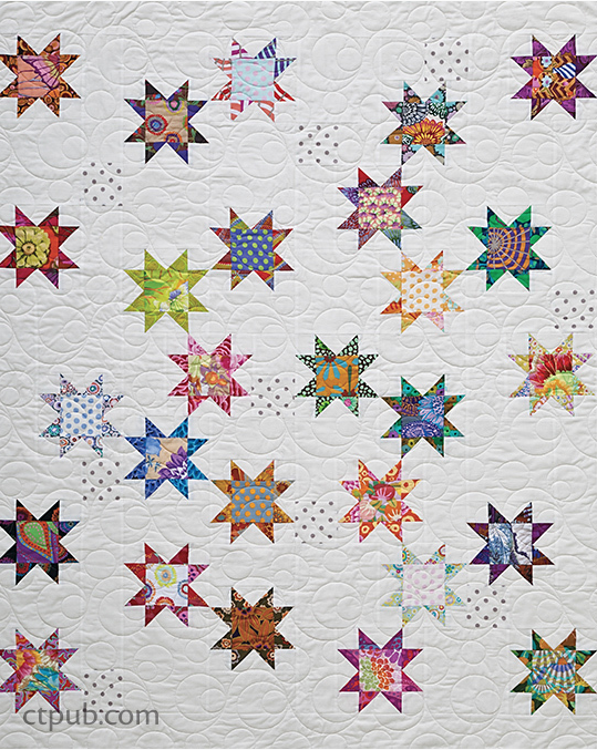 Seeing Stars Quilt Pattern Free Pattern Sewing With Scraps