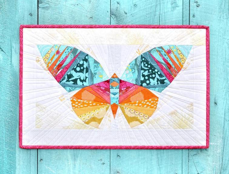 Butterfly Paper Piecing Pattern