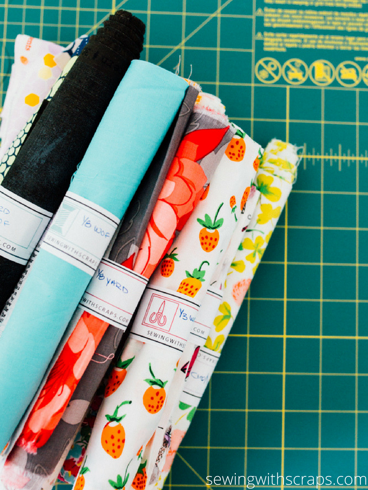 If you've never considered saving scraps, don't know the difference between a scrap and a remnant, are looking for creative ways to organize your scrap stash, or are in need of a handy printable fabric wraps to keep your stash tidy, this booklet is for you!