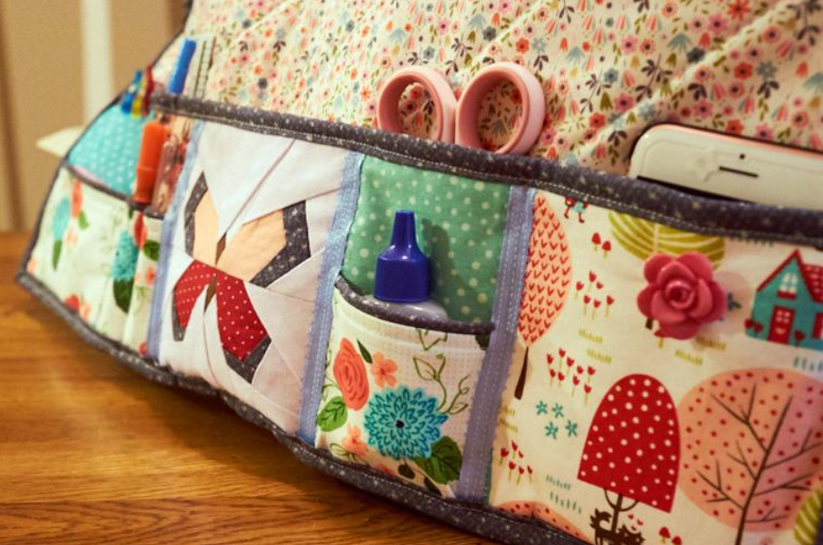 Undercover Sewing Mat Close Up| Free Sewing Pattern