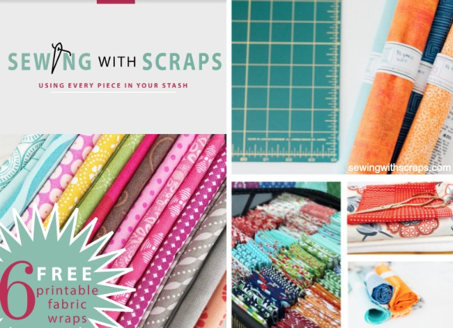 Then, it's time to download your copy of our Using Every Piece eBook with our printable fabric wraps, our subscriber benefit.