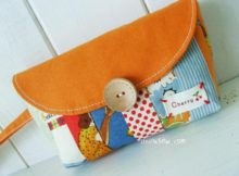Colorful Clutch Purse - Caroline
