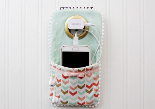 charging station free project sewing with scraps