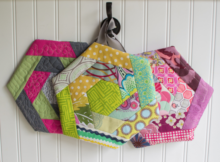 Scrap Happy Potholder | Free Pattern