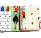 Keep your essentials altogether and easy to reach with this easy to make organizer wallet. The free pattern is a quick stitch and perfect for scraps.
