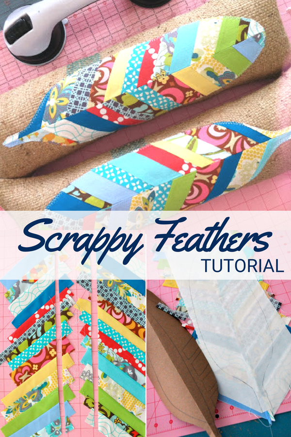 Scrap Feather Tutorial