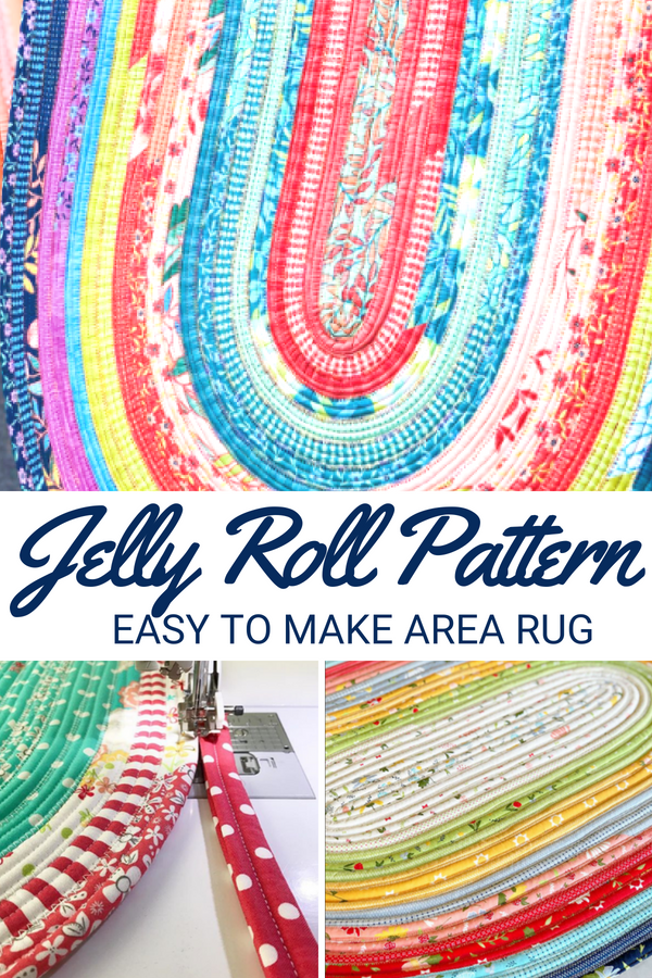 Accent Rug – Jelly Roll Rug Pattern