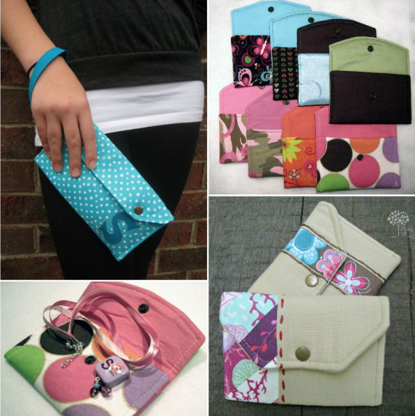 On the Go Wallet Options | Free Pattern