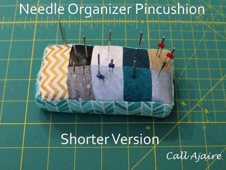 Needle Organizer Pincushion | Free Pattern