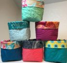 Scrappy Quilt Basket | Free Pattern