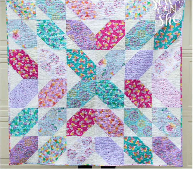 Fancy Squares Quilt Pattern | Free Quilting Pattern