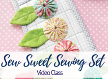 Sew Sweet Sewing Set Video Class