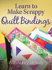 Learn just how easy it is to create binding from scraps with this video class.