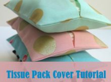 Tissue Pouch Sewing Tutorial