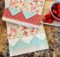 Free Embellished Tea Towel Tutorial perfect for a hostess gift!