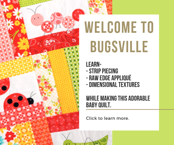 Baby Quilt Class - Learn to Quilt - Sewing With Scraps