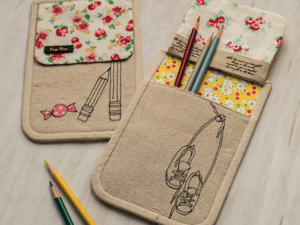 Personalize your next sewing project with free motion stitching. Sew Illustrated offers 16 handmade projects, 35 inspirational drawings and endless possibilities. Order your copy today.