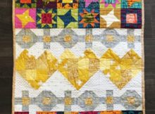 Love of Sewing Free Mini Quilt Tutorial