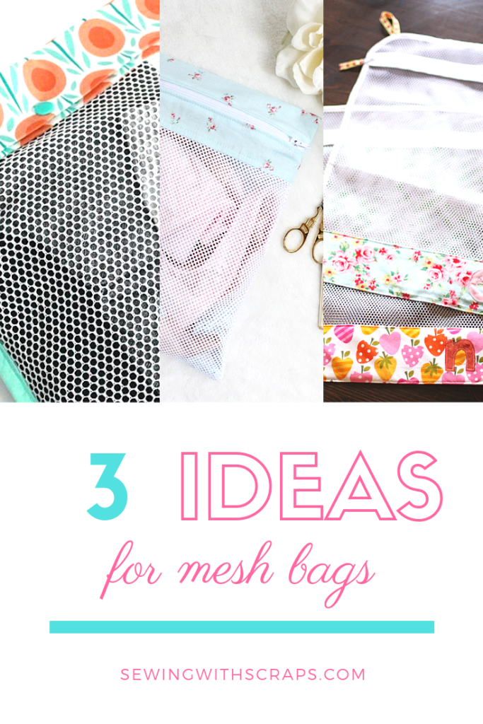 3 mesh bag sewing tutorials for lingerie or produce