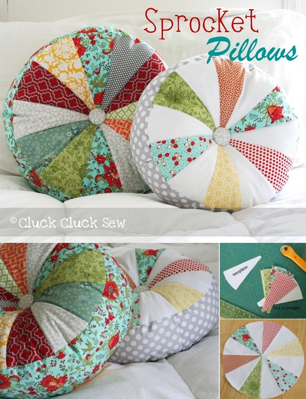 Sprocket Pillow Tutorial