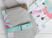 Notebook Cover Sewing Pattern