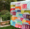 Hillside Houses Quilt Topper