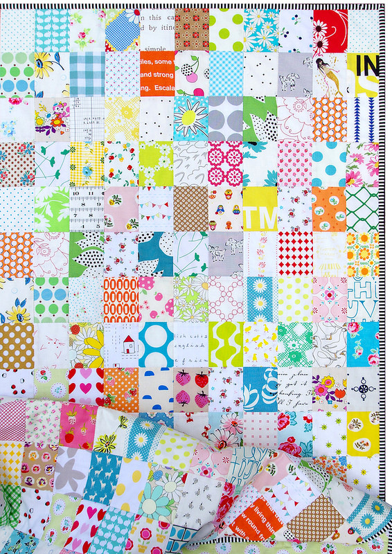 Rectangle Postage Stamp Quilt