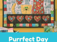 Purrfect Day Wall Hanging Quilt