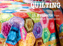 Scrap Happy Quilting Book includes 11 projects and is perfect for all skill levels.