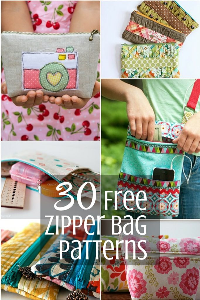 Zipper Bag Pattern Inspiration | Sewing With Scraps
