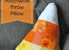 Candy Corn Pillow Tutorial