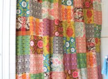 Patchwork Curtains | Sewing With Scraps