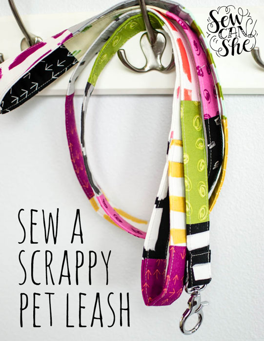 Scrappy Pet Leash Sewing Tutorial