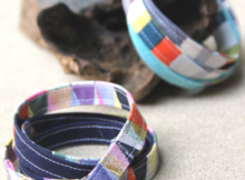 DIY Fabric Wrap Bracelet