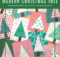Modern Christmas Tree Quilt Block