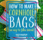 Easy to Make Cornhole Bags
