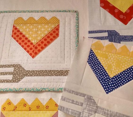 Pie Slice Quilt Block