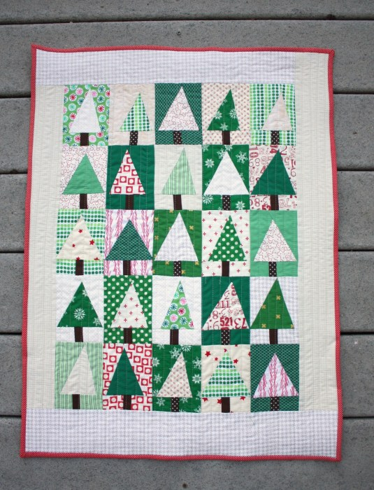 Modern Holiday Quilt