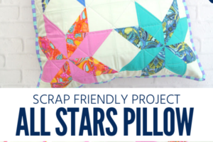 All Stars Pillow Sewing Pattern