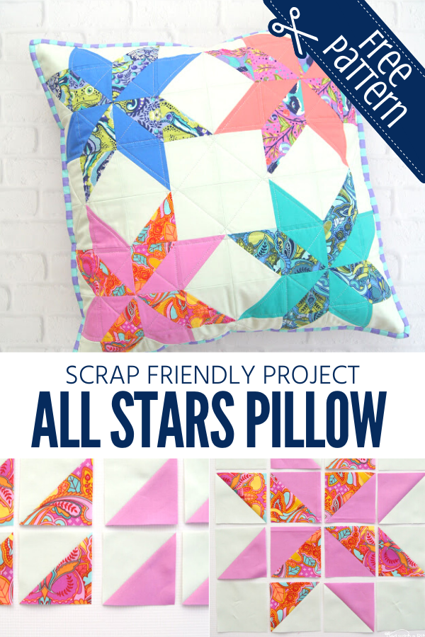 All Stars Pillow Sewing Tutorial