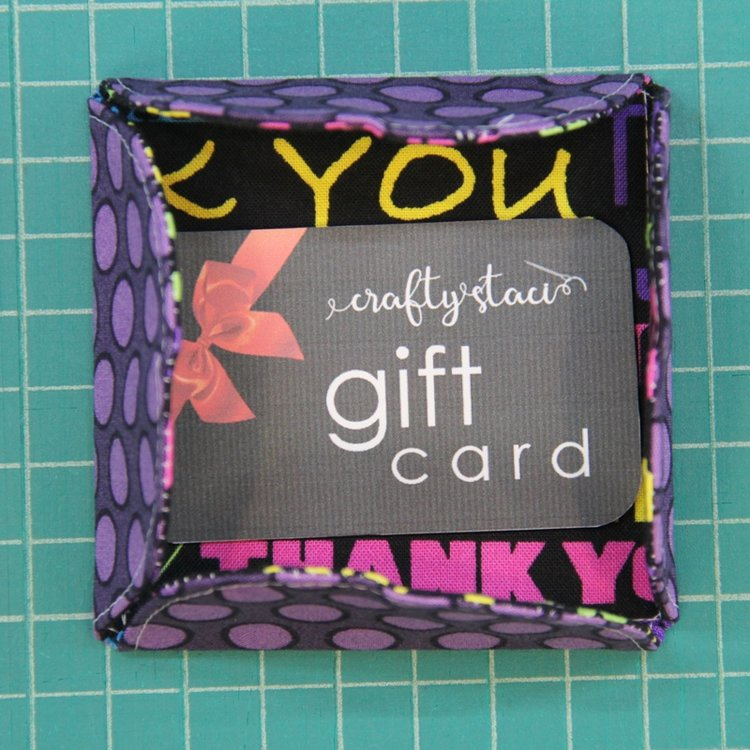 Free Gift Card Holder Pattern