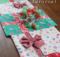 Holiday Table Runner Tutorial