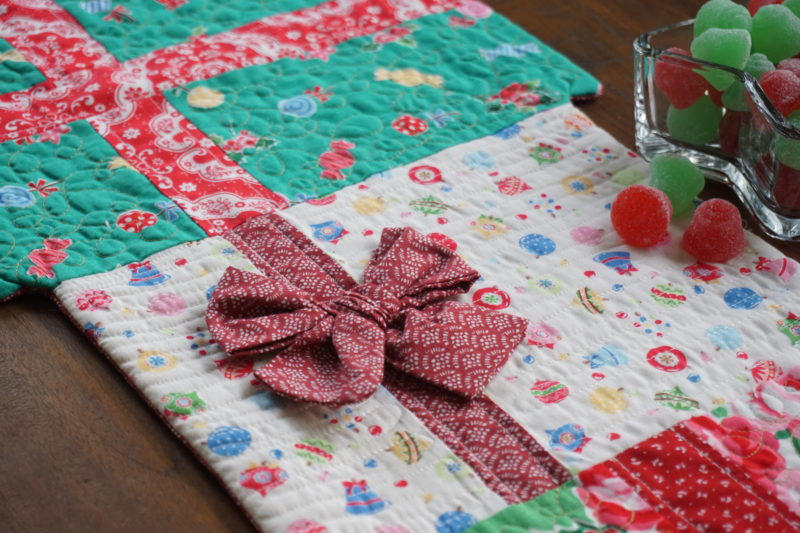 Free Table Runner Tutorial