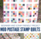 Mod Postage Stamp Quilts