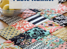 Zig Zag Charm Pack Table Runner Tutorial