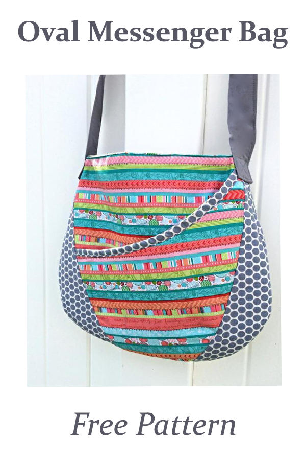 Oval Messenger Bag Free Pattern