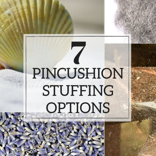 Such great options for filling pincushions.