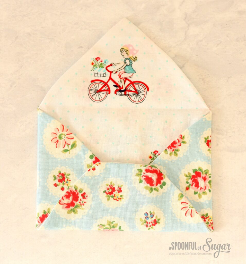 Fabric Envelopes sewing tutorial