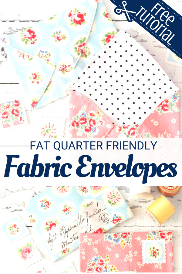 DIY Fabric Envelopes